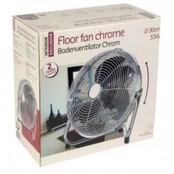 Ventilateur de sol Chrome...
